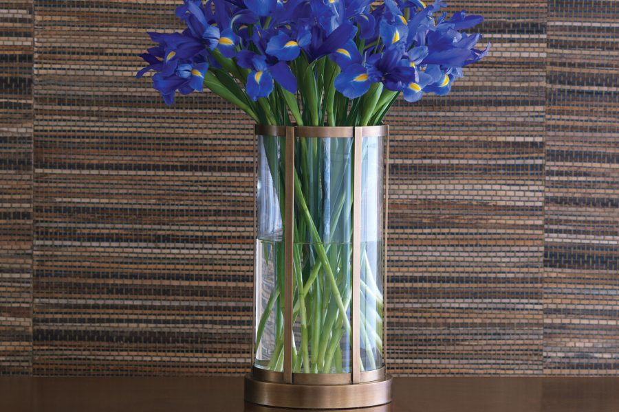 Edgewater Brass Vase hurricane 3